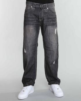SIGMA - Sigma Premium Tacking Stitches Flap Pocket Straight Fit Jeans