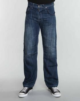 SIGMA - Sigma Premium Twill Tape Trim Slim Straight Fit Jeans