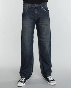 SIGMA - Sigma Premium Washed Whisker Straight Fit Jeans