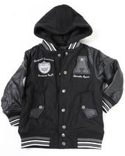 4-7x Little Boys - Varsity Wool Jacket (4-7)