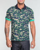 Lacoste Live - L!Ve S/S Pique Camouflage Color Block Polo