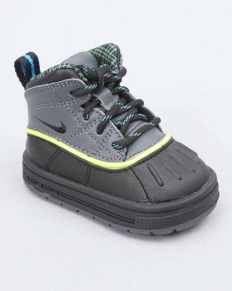 Nike Boys Black Nike Woodside 2 High Sneakers (Toddlers)