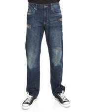 Classic Denim - Grant Ribbed & Repair 5 Pkt Jean