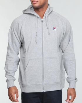 Fila - Full zip Heavy fleece hoodie