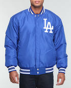 Cold Weather- MEN - Los Angeles Dodgers Wool Two Tone Reversible Jacket
