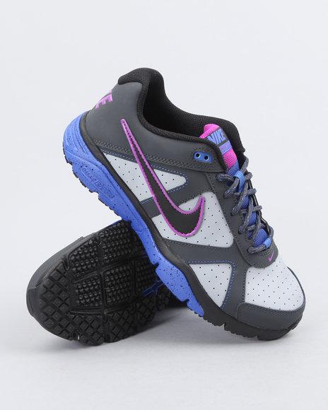 Nike Men Grey Nike Dual Fusion Tr Iii Sneakers