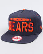 Men - Chicago Bears Sa-weet snapback hat (A-Frame)
