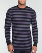 Men - Z Y Chest - Logo Striped L/S Thermal