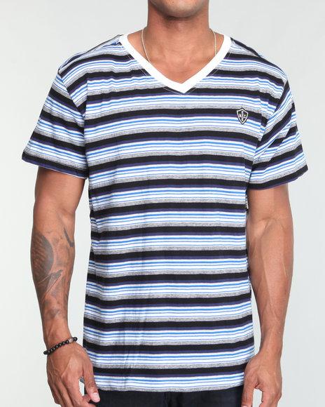 Enyce Men Dark Blue Jasper Shirt
