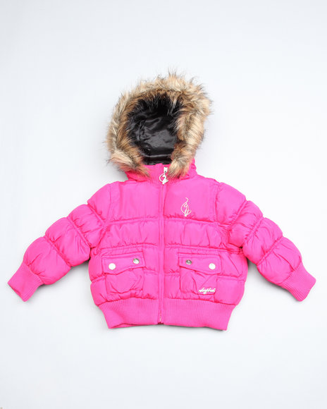 rouched bomber jacket (2t-4t)