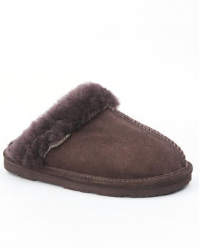 Bearpaw - Loki Suede Sheepskin Lined Slippers