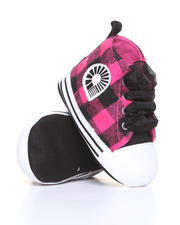 Girls - Plaid Hi Top (INF)