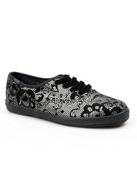 Keds - Keds Champion Metallic lace sneaker