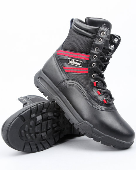 Cadillac Footwear Men Black Rock