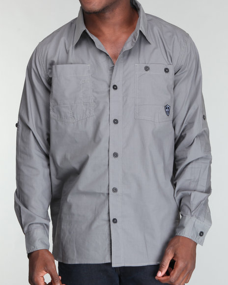Enyce Men Grey Regional Shirt