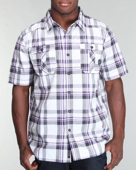 Enyce Men White Builder Shirt