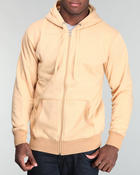 Men - Color stitched detail  zip hoodie