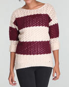 Sweaters - Blair school girl 3/4 sleeve sweater