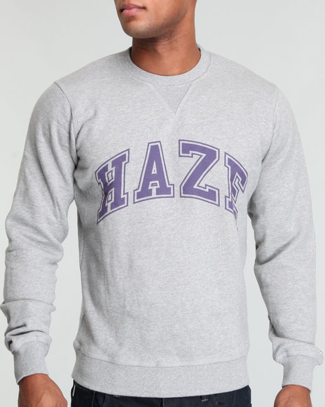 Akoo Men Haze Fleece Crew Sweatshirt - Sweatshirts & Sweaters