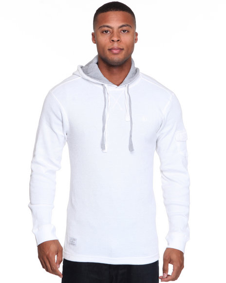 - Takeover Thermal Long Sleeve Hoodie