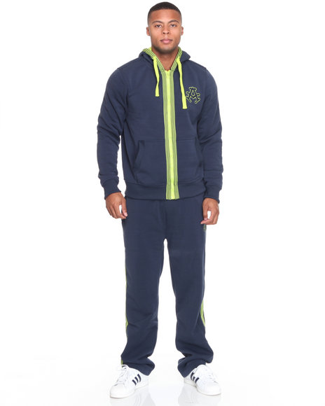 - Long Champ Fleece Set