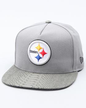 New Era - Pittsburgh Steelers Snake Snap Adjustable Hat