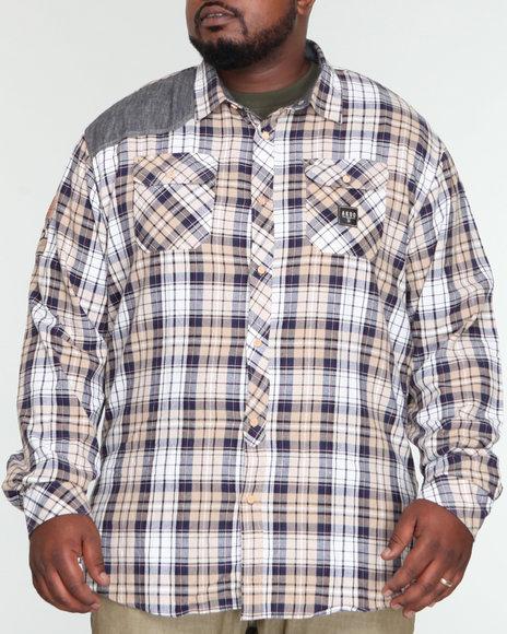 Akoo Men Kraig Woven (B & T) - Shirts