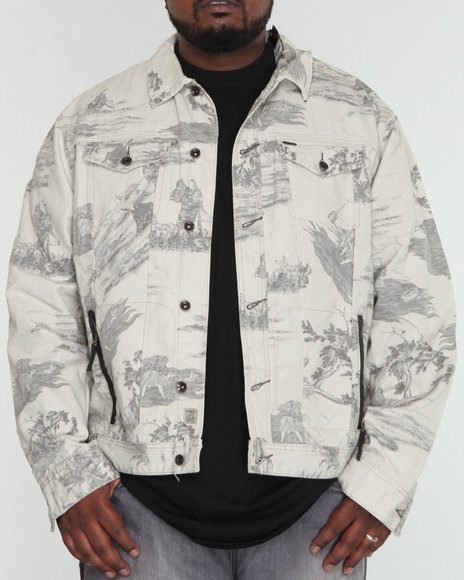 Akoo Men Windsor Jean Jacket - Outerwear