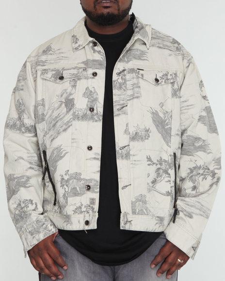 Akoo Men Windsor Jean Jacket - Outerwear