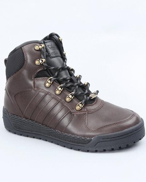 Adidas Men Brown Winter Ball Sneakers