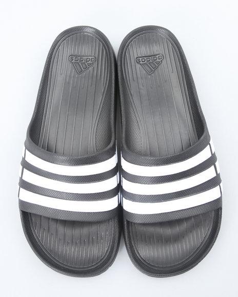 Adidas Men Black Duramo Slide Sandals