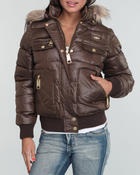 Women - Core Puffer Hooded Jacket
