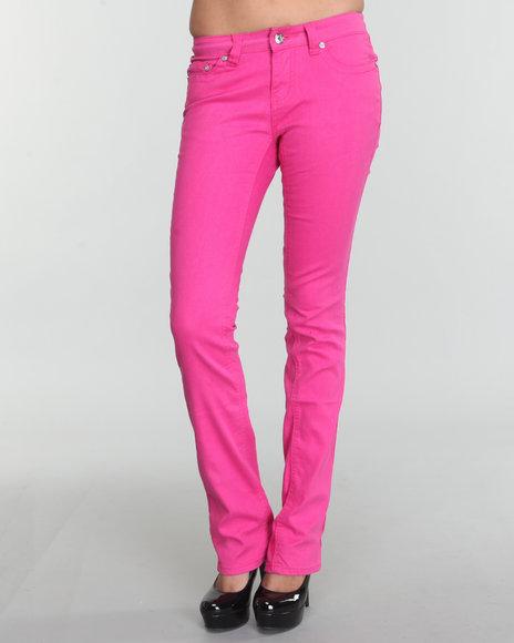 COOGI Women Pink Coogi Colored Denim