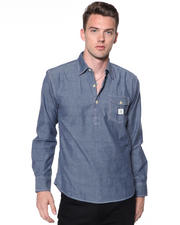 DJP OUTLET - 3/4 Placket w/ Patch Pocket