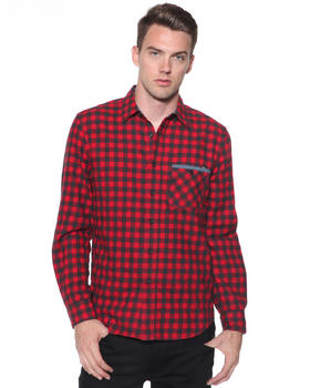 DJP OUTLET - Stone Washed Buffalo Check Shirt