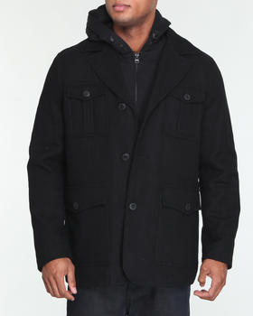 Levi's - 4-Pocket Field Jacket w/ removable hoodie