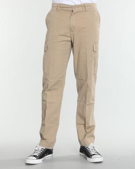 Rothco - Men Khaki Rothco Slim Vintage Flat Front Cargo Pants