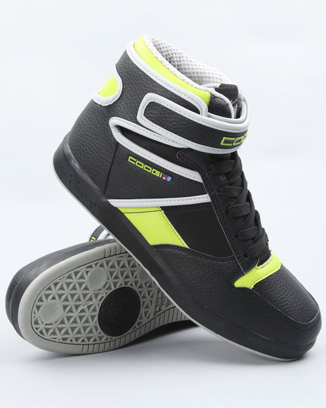 COOGI Men Black Jettison Hi Sneakers
