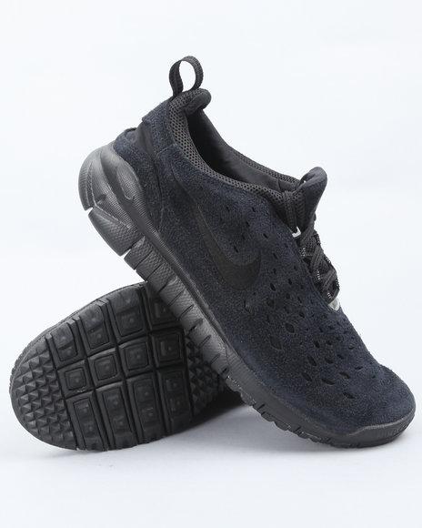 Nike Men Black Nike Free Trail Sneakers