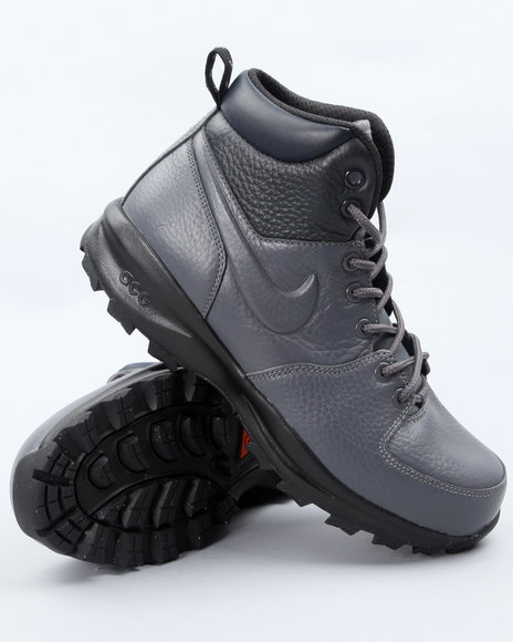 Nike Men Grey Nike Manoa Ws Boots