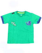 4-7x Little Boys - Prep V Neck Tee (4-7)