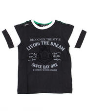 4-7x Little Boys - Living the Dream Tee (4-7)