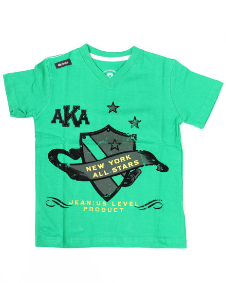 Akademiks Boys All Star V Tee (8-20) - 4-7x Little Boys