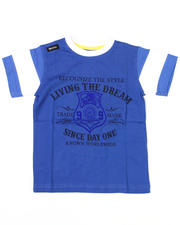 4-7x Little Boys - Living the Dream Tee (TOD)