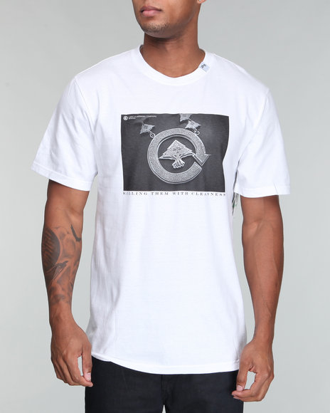 Lrg Men White Create Destiny Tee