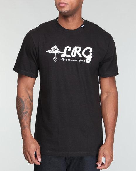 LRG Men Black Higher Plains Tee