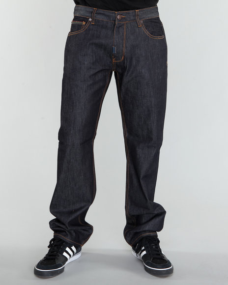 LRG Men Raw Wash Chronicle True-Straight Jean
