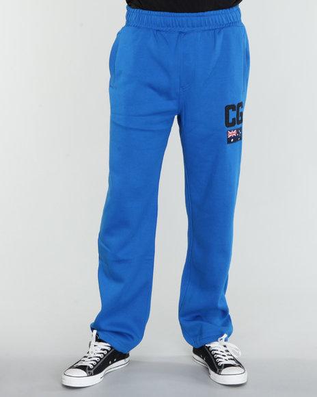COOGI Men Blue Kangaroo Coogi Sweatpants