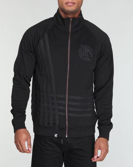 LRG Men Black Think Legacy Track Jacket