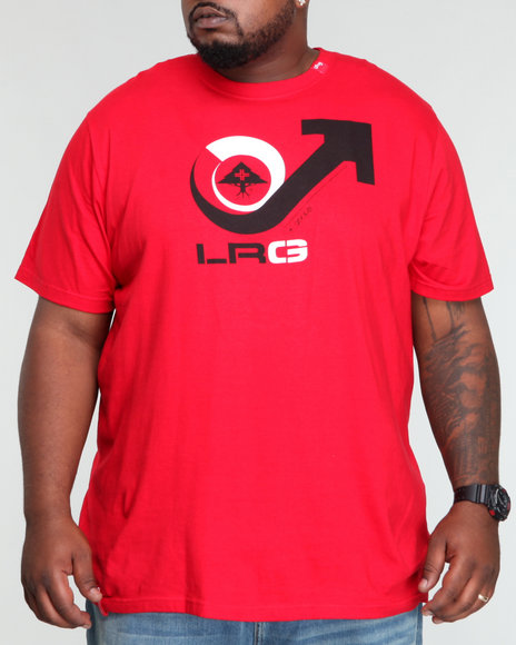 Lrg Men Red Vicious Cycle Tee (B&T)